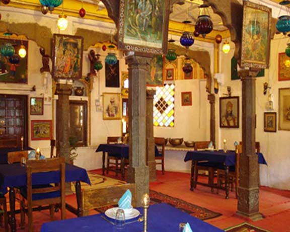 Decorated Dinning Room of Haveli