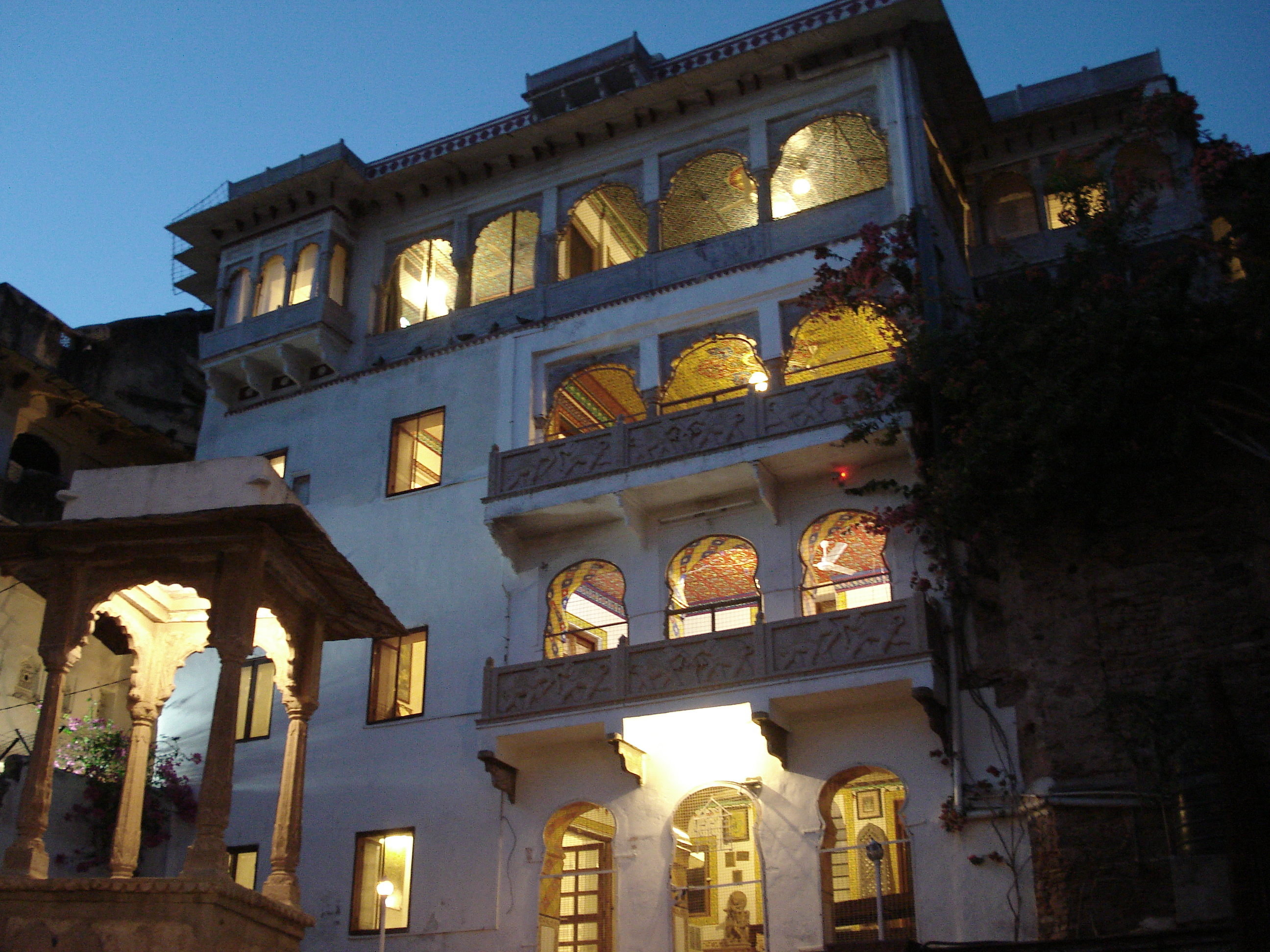 Traditional entrance of Haveli