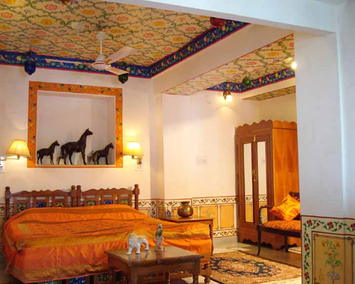 Traditional Decorated Room